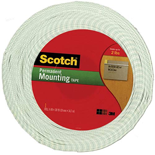 3M(TM) Double Coated Urethane Foam Tape Off-White, 3/4-Inch x 36 Yards 1/16-inch Off-White (4016)