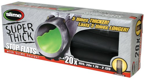 Slime 30050 Super Thick Self-Sealing Smart Tube, Schrader Valve (20 x 1.75-2.125″)