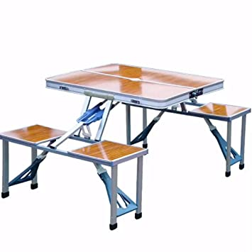 Tavolo Pic Nic Pieghevole Con Sedie.Lw Outdoor Tavolo Da Picnic Tavolo Pieghevole Con Sedie Set