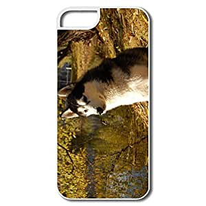 IPhone 5 5S Covers, Husky White Cases For IPhone 5S