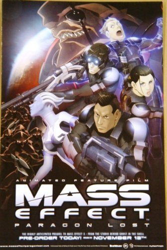 (Mass Effect Paragon Lost San Diego Comic Con 11 x 17 Poster )