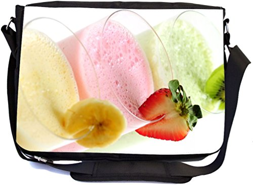 Rikki Knight Summer Fruit Smoothies Design Premium Messenger