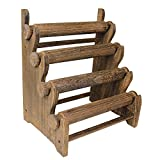 Ikee Design Antique Brown Color Wooden 4 Tier Bar Bracelet/Bangle Jewelry Holder Stand Display Organizer Review