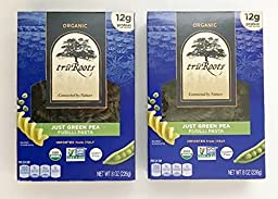 truRoots Organic Just Green Pea Fusilli Pasta 8 oz. (Pack of 2)