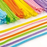 Pipe Cleaners Value Pack 6 Assorted Colours 30cm Craft Supplies Kids by Baker Ross