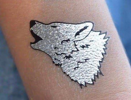 Twink Designs Tatuajes temporales - 4 páginas de metálicos ...