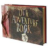 IngTall Our Adventure Book Photo Album,11.6 x 7.5