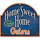 WinCraft NCAA University of Florida Wood Arched Sign, 10 x 11, Black