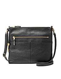 Fossil Fiona Large Crossbody Black