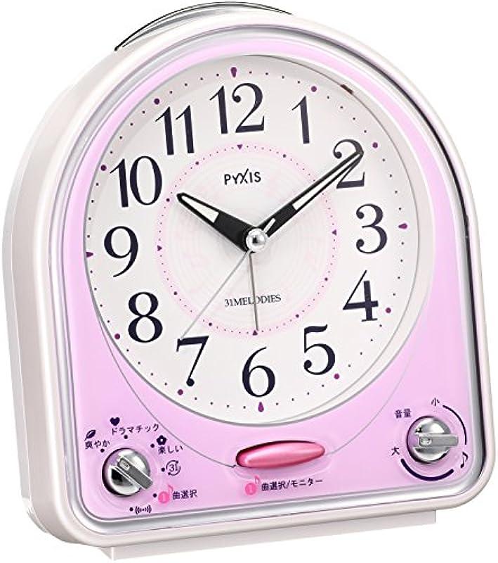 SEIKO 알람 시계 31곡 멜로디 PYXIS NR435 (2색상)