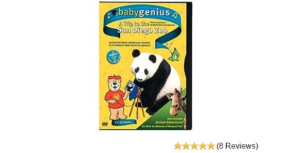 Amazon Com Baby Genius A Trip To The San Diego Zoo Artist Not