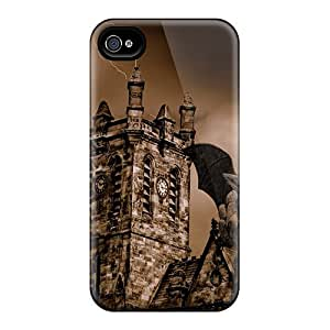 TiMFRKQ1278FDkLm Snap On Case Cover Skin For Iphone 4/4s(gargoyle House)