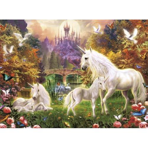 Ravensburger Puzzle Les licornes magiques 500 pièces, 14195