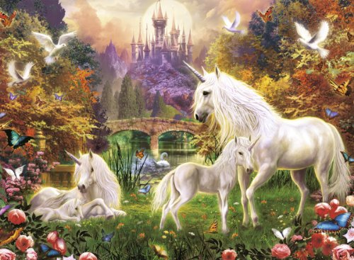 Ravensburger Magical Unicorns 500 Piece Puzzle