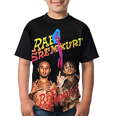 Rae Sremmurd T Shirts Youth Round Neck Shirt Teenager Boys Personality Tees