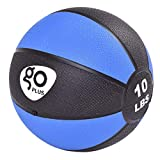 MD Group Fitness Weighted Medicine Ball 4/6/8/10 lbs, 4 lbs