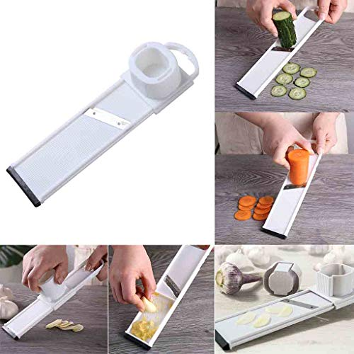 AIUSD Clearance , Multifunctional Vegetable Potato Cucumber Slicer Peeler Cutter Kitchen Tool