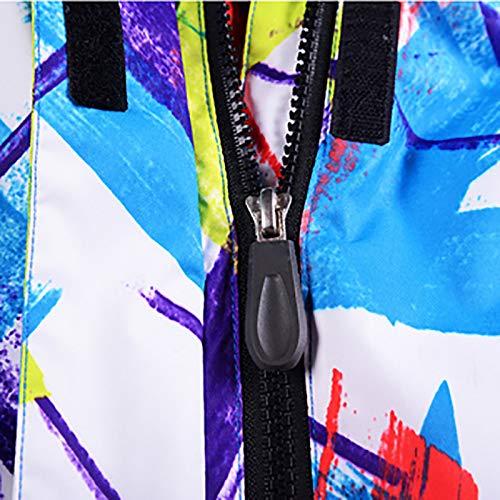 Sport Combinaison Color vent Et Chaud Coupe Vestes Ski Ensembles Snowboard De Imperméable D'hiver Set Femmes Pantalons A2 Picture Épais Veste Jiakenvde RqBZwxqa