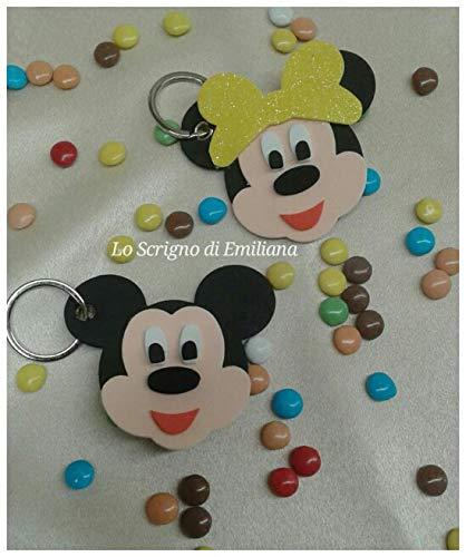 Segnaposto Matrimonio Disney.5 Portachiavi Topolino Minnie Disney Bomboniera Segnaposto Amazon