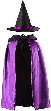 Per Bambini Elsa Frozen Costume Halloween Strega Costume Da Strega 4-10 anni