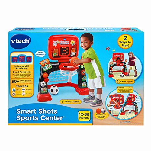 51ATF2mxKhL - VTech Smart Shots Sports Center Amazon Exclusive, Red/Black