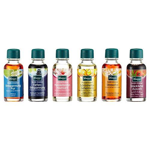 Kneipp Badeöl Kollektion, 1er Pack (6 x 20 ml)