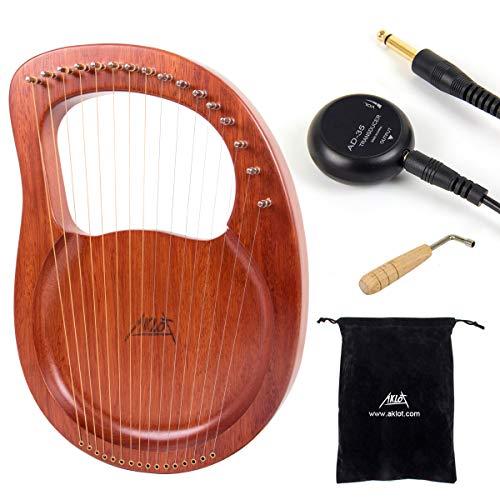 Lyre Harp, AKLOT 16 Metal String...