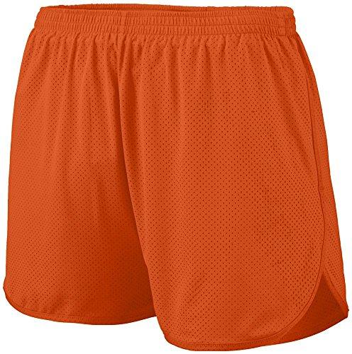 (Augusta Sportswear Boys' Solid Split Short S Orange)