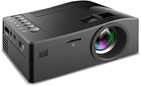 Proyector portátil, Mini Led Full HD Projector 1080P, Lente de ...