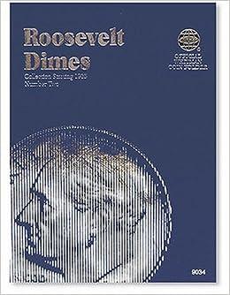 roosevelt dimes folder 1965 2004 official whitman coin folder