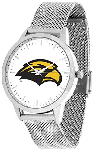 (Southern Mississippi Eagles - Mesh Statement Watch - Silver Band)