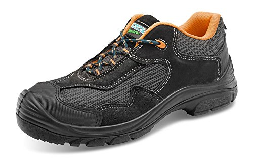 Click Non Metallic Safety Trainer Shoe - Size 9