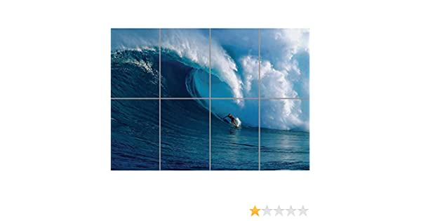 SURFING SURF WAVE OCEAN GIANT WALL PRINT AFICHE CARTEL ...