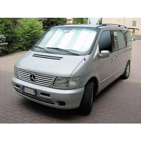 Shop4trucker Motorhome camper minibus van large windscreen sunshade silver reflective 160cm x 85cm