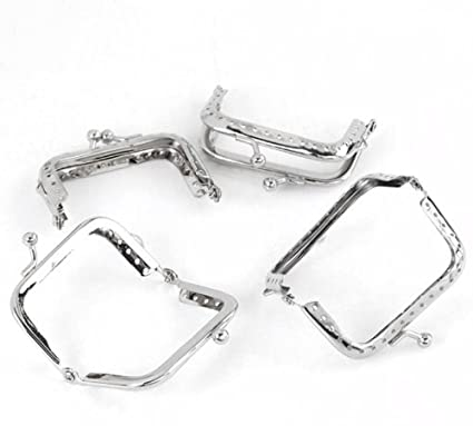 Amazon.com: Rockin Beads Brand, 5 Metal Frames Snap Clasp for Small ...