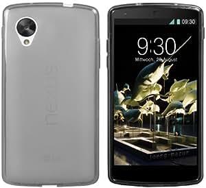 mumbi Cover Case - Funda para Google Nexus 5, gris