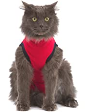 MPS 02-3935 Cat Pet Shirt XXXS - Red
