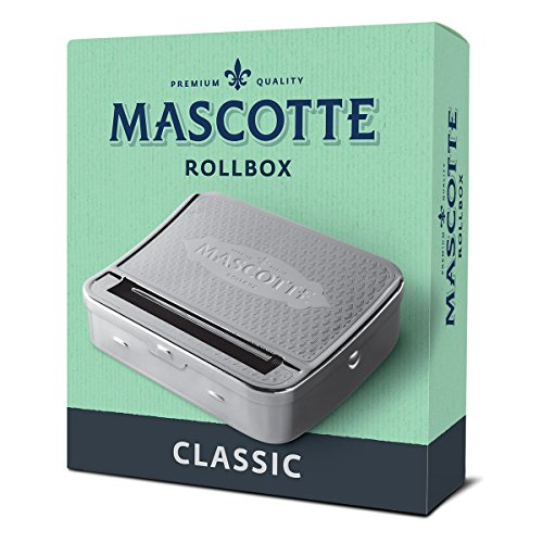 Mascotte cigarette rolling machine/ Tobacco tin