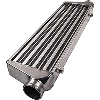 """Intercooler Piping Kits Universal 27 x 7 x 2.5 2.5/"""" Inlet /& Outlet Tube and Fin"""