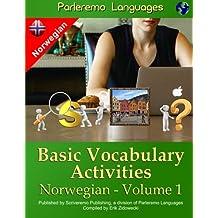 Parleremo Languages Basic Vocabulary Activities Norwegian - Volume 1