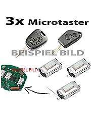 3x voor 106 206 207 306 307 406 afstandsbediening sleutel microschakelaar SMD knop microschakelaar microschakelaar
