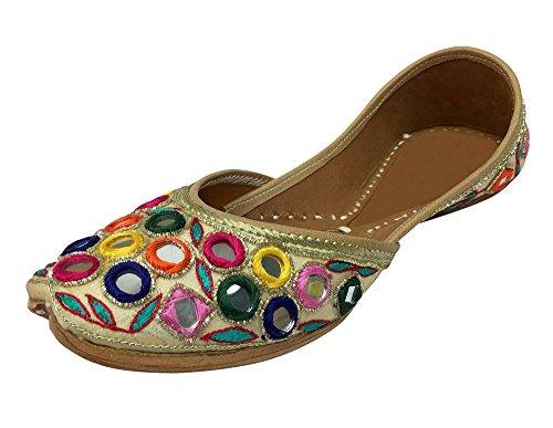 Step n Style - Sandalias de vestir de tela para mujer multicolor multicolor