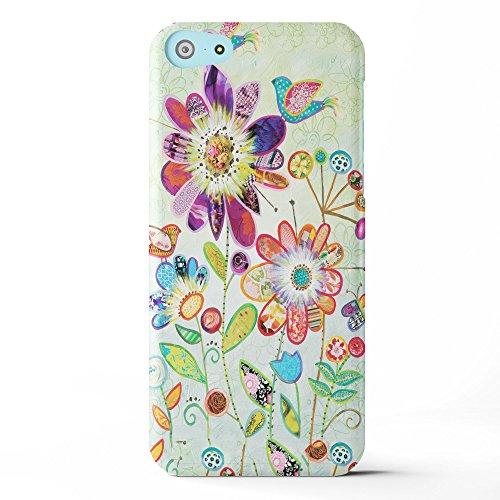 Koveru Back Cover Case for Apple iPhone 5C - Wild Garden