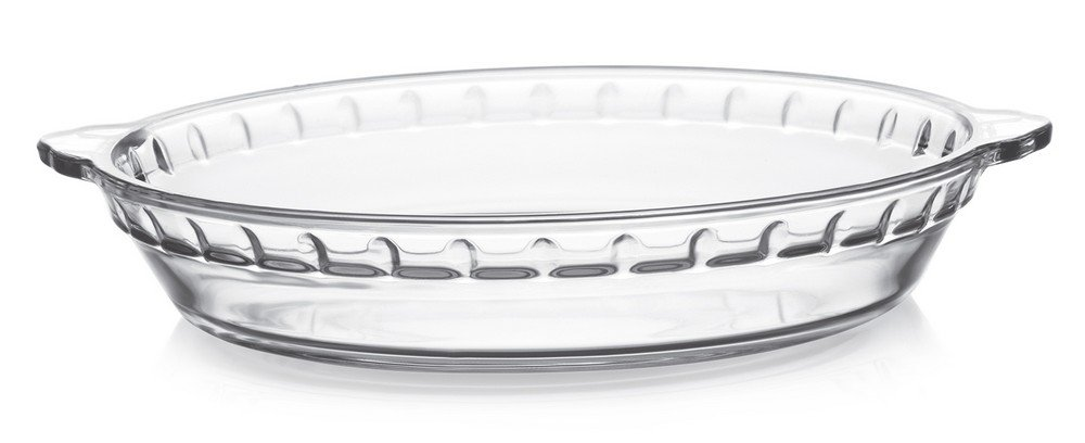 Cello Rosabella Round Glass Baking Dish, 1.7 Litres/28.7cm, Clear