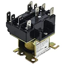 Trane RLY-1709 • 90-340 Replacement Heavy Duty Switching Fan Relay DPDT 24 VAC Coil by Packard