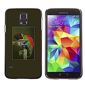 SKCASE Center / Funda Carcasa - Verde Trópico Naturaleza;;;;;;;; - Samsung Galaxy S5