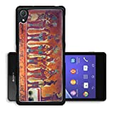 Liili Premium Sony Xperia Z2 Aluminum Backplate Bumper Snap Case IMAGE ID: 9845534 Many people on the fresco in museum antropology in Mexico