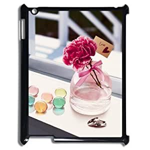 DIY Cover Case with Hard Shell Protection for Ipad2,3,4 case with Perfect love lxa#285070 by icecream design
