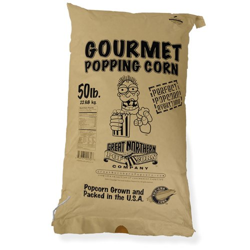 (4103 Great Northern Popcorn Yellow Gourmet Popcorn Bulk Bag Premium Grade, 50)