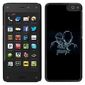 // PHONE CASE GIFT // Duro Estuche protector PC Cáscara Plástico Carcasa Funda Hard Protective Case for Amazon Fire Phone / Daft Band /